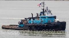 ATLANTIC SALVOR Tugboat, 2016 Fleet Week New York