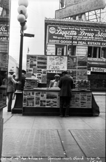 Newsstand at 4th & Pike, 1926