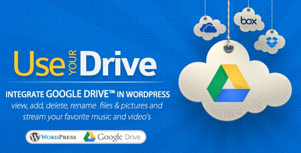 Use-your-Drive v1.5.4 - Google Drive plugin for WordPress