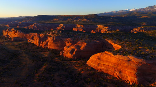 trees sunset usa mountains art nature forest landscape utah unmodified spring unitedstates desert artistic bluesky erosion vista northamerica redrocks rockymountains southernutah springtime rockformations unedited drone snowcappedmountains moabutah nofilters noadjustments dji straightoffthecamera quadcopter phantom3professional