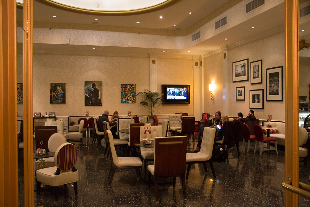 Restaurants at Roosevelt Waldorf Astoria | New Orleans Hotel Review during Mardi Gras