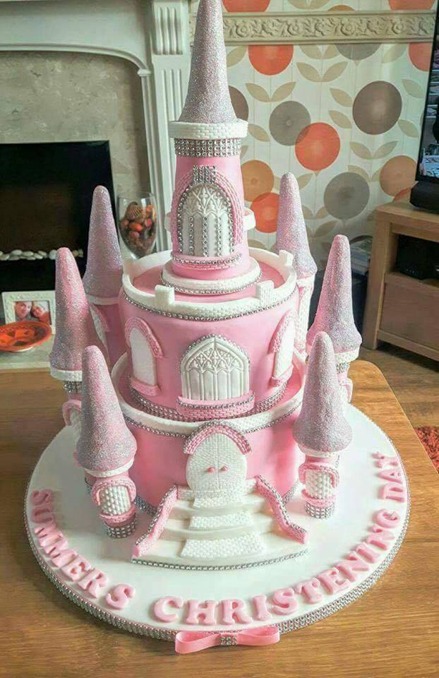Castle Cake by Cheryl Fitzsimmons