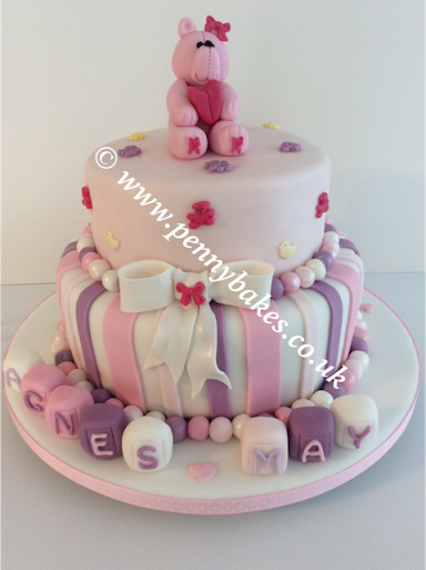 Christening Cake by Penny Grundon