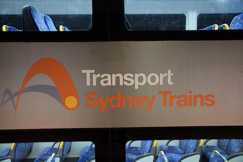 Transport Sydney Trains logo
