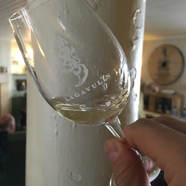 Lagavulin 8 year old. It's a little rougher and could use more time in the barrel. But it's still delicious.