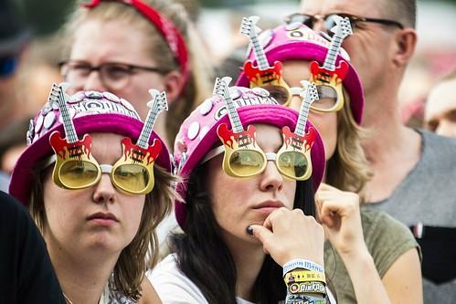 Pinkpop 2016 mashup foto - Mooiste hoedjes ever!