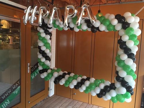 Ballonnen Fotolijst Vaderdag Watertuin Schiedam