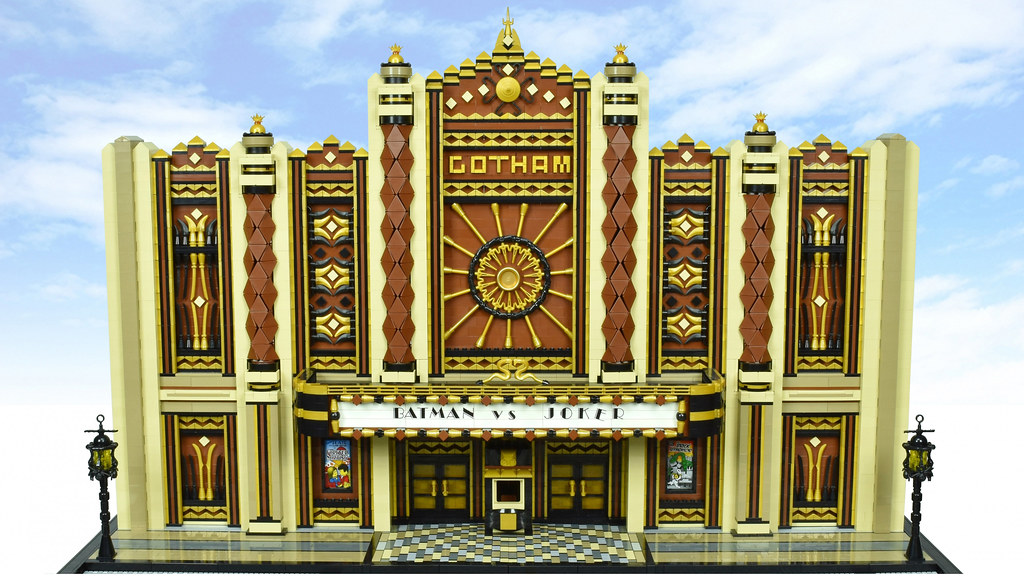 LEGO Art Deco Theater