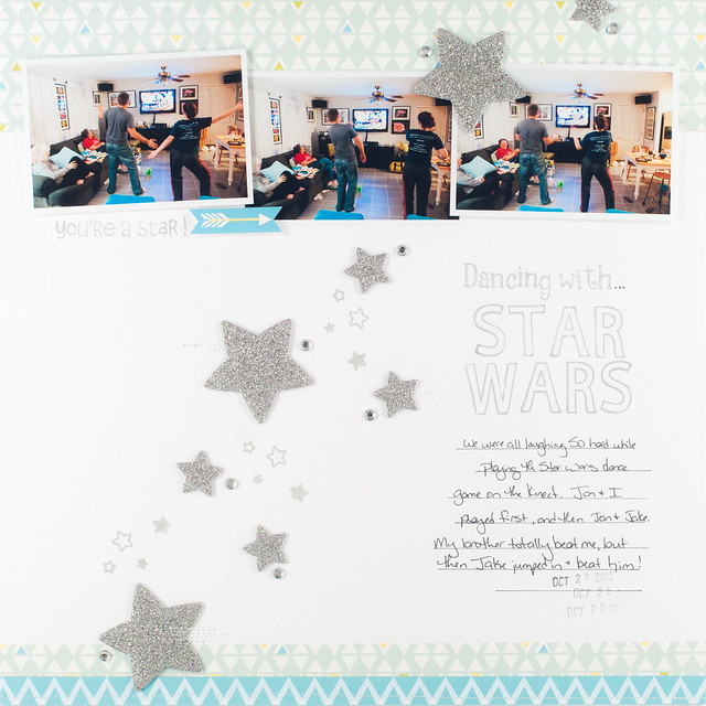 puffy stars layout