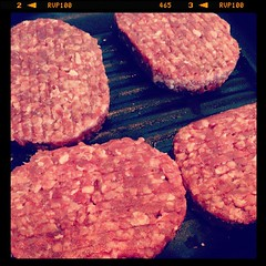 Hand made burgers from my butcher #BuyLocal