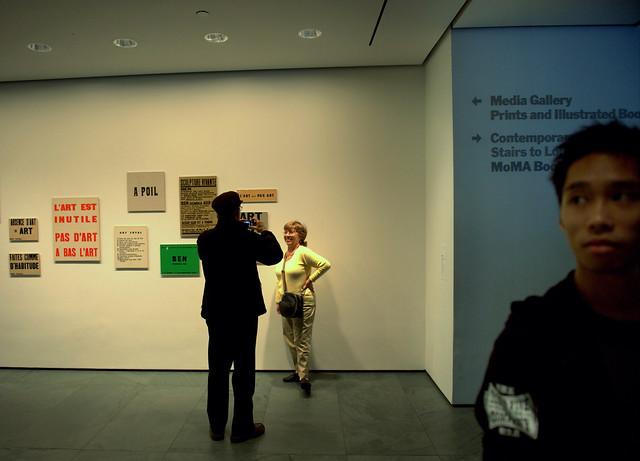 MoMA Fluxus sighting