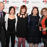Corny O'Connell, Carmel Holt, Nicole Atkins, Claire Sheridan and Rita Houston. At the Edison Ballroom in New York City, May 9, 2013. Photo by Chris Taggart