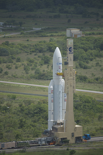 Transfer of Ariane 5 flight VA213