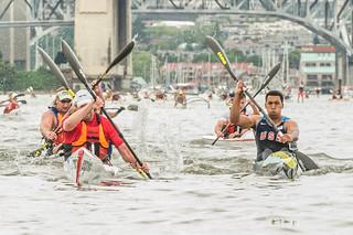 Big Chop paddle race June 2013