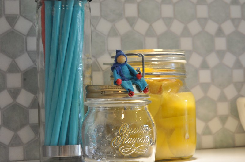 Elf, straws and preserved lemons
