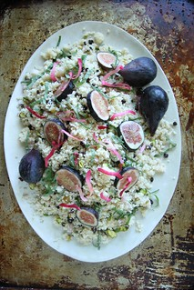 Couscous Salad with Currants, Figs and Pistachios
