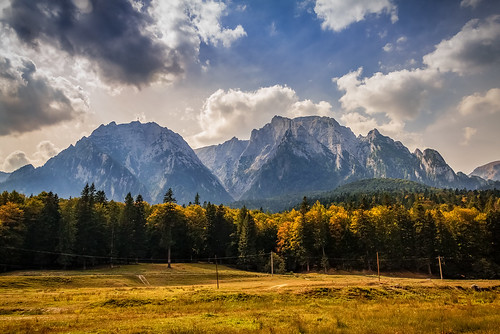 The Bucegi Mountains by Flickr User: Sorin Mutu
