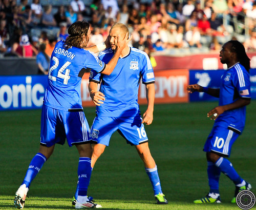 Steven Lenhart, Alan Gordon, Walter Martinez, Colorado Rapids vs San Jose Earthquakes June 15th 2013 by Corbin Elliott Photography