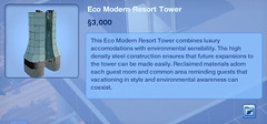 Eco Modern Resort Tower
