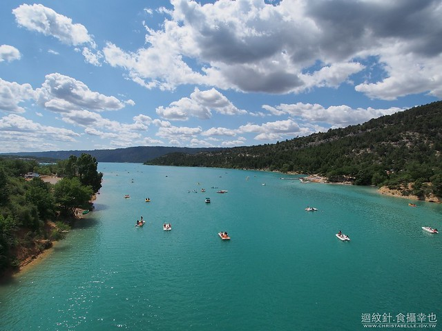 Lac de Sainte Croix and Des Gorges du Verdon 聖十字湖與維燈峽谷