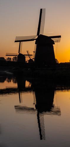holland netherlands windmill sunrise alkmaar p1090170 dmcfz35 alkmaarnord