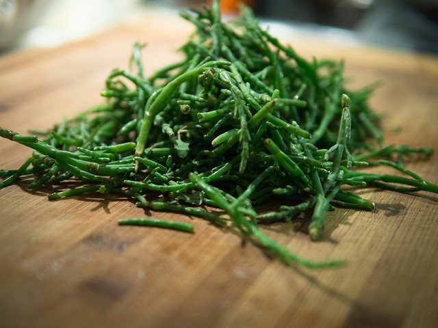 sea asparagus recipe, what to cook with sea asparagus, sea asparagus