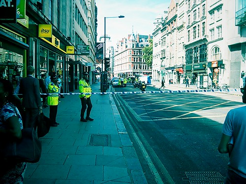 Cyclist death on Holborn