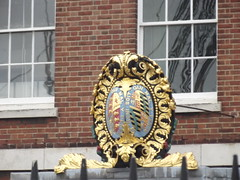 South Office Block - Portsmouth Historic Dockyard - Royal coat of arms
