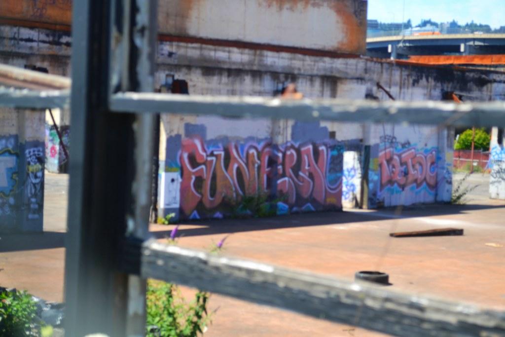 FUNERAL, Portland, Graffiti, Street Art