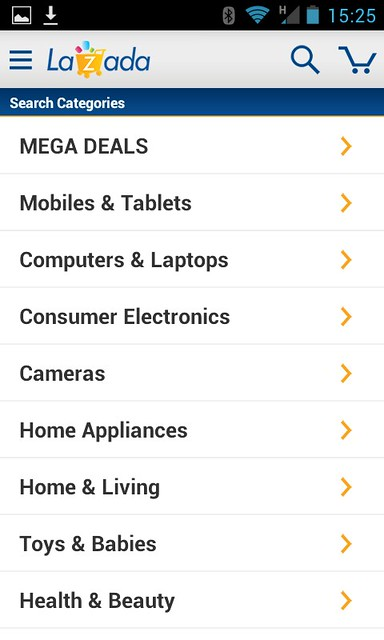 Lazada App for Android-001