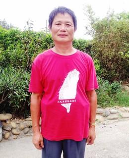 永興村社區發展協會副總幹事葉斯桂,是當地反英華威風車的重要推手。