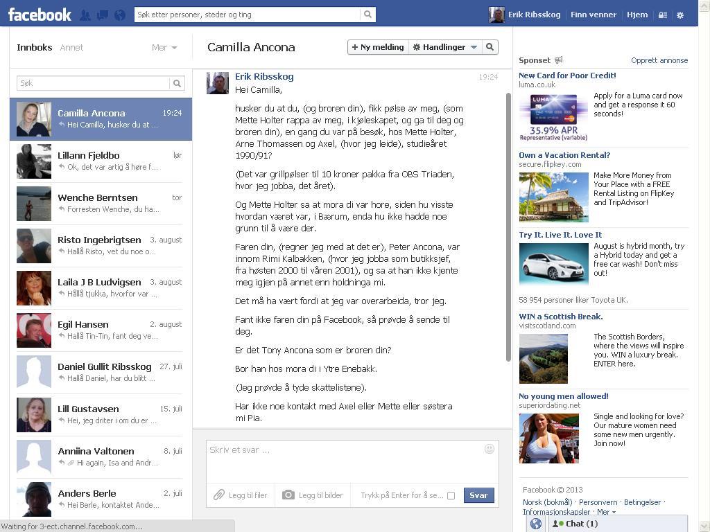 camilla facebook