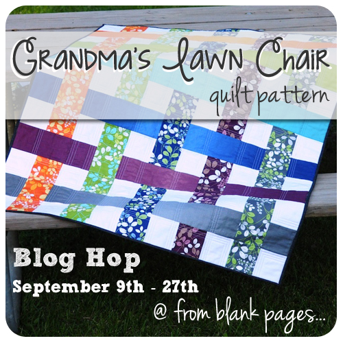 Grandma's Lawn Chair Blog Hop