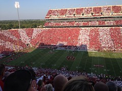 Stripe the stadium  OU-West VA
