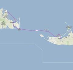 MV-ACK Paddle Route