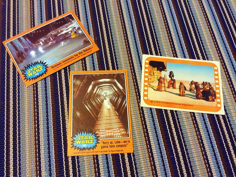 star wars 1997 trading cards series 5 orange topps