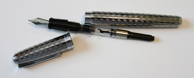Levenger True Writer Silver Anniversary Fountain Pen