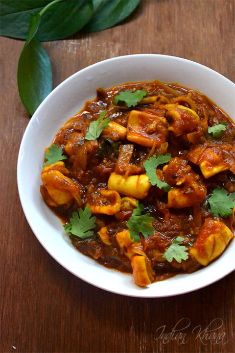 Squid-Masala-Sotong-Masala-Curry
