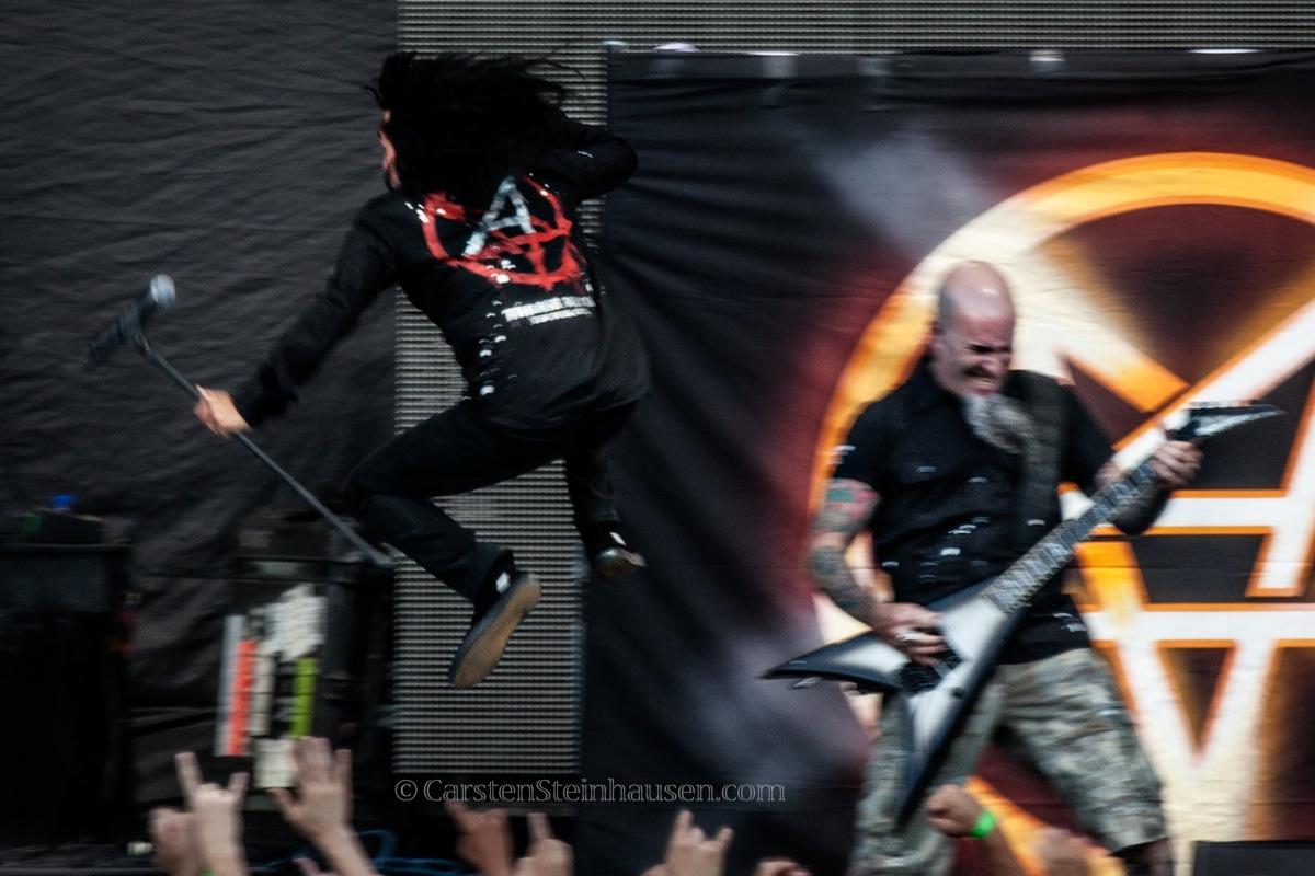 Anthrax @ San Manuel Ampthitheatre, San Bernardino CA - 09/13/13