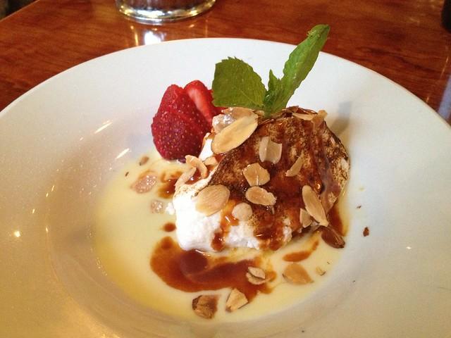 Floating island - Alamo Square Seafood Grill