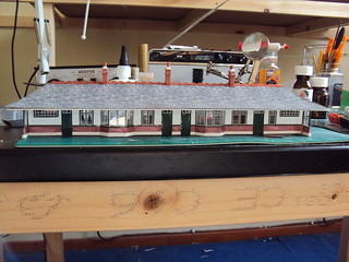 West Highland Station building - Work in progress!