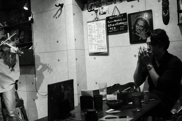 春日善光&石川泰 live at luck-ya, Tokyo, 04 Oct 2013. 083