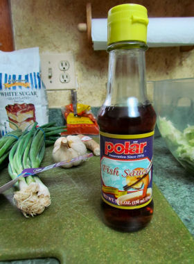 Fish Sauce for Kimchi