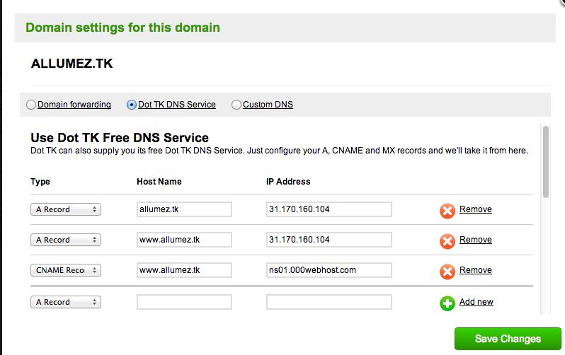 Domain Tk