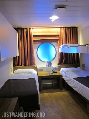 Our cabin onboard Anek Lines