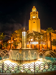 Carthay Circle Theater Night