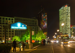 Leipziger Platz - Festival of Lights