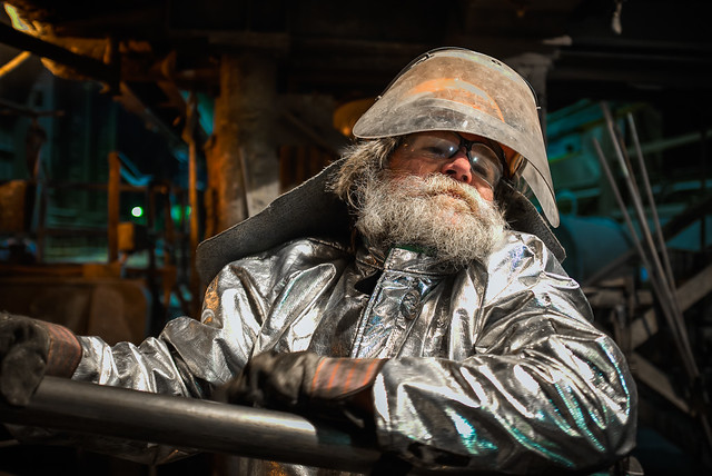 Steel Mill Portraits: Melt Shop