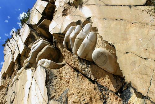 Gargantua sortant du rocher