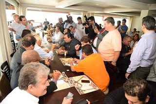 Líderes do Solidariedade discutem sobre eleições 2014